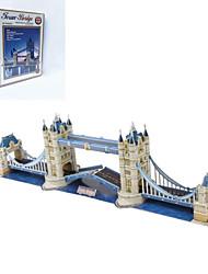 Недорогие -DIY-близнец мостов формы 3d головоломки