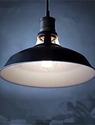Недорогие -диаметр 27см старинные подвесные светильники 1-светлый металлический оттенок гостиная столовая прихожая освещение