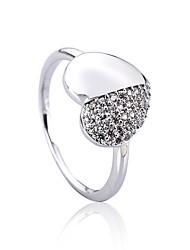 cheap -Statement Ring Silver Copper M / Women's / Rhinestone