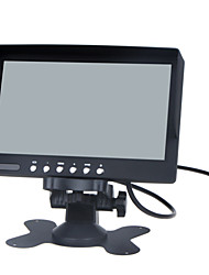 cheap -7 inch LCD Color Monitor / Two Way Video Input, One Way Audio Input
