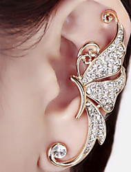 cheap -Women's Synthetic Diamond Ear Cuff Climber Earrings Ladies Birthstones Earrings Jewelry White / Purple For Wedding Party Daily Casual
