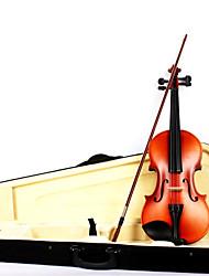 Недорогие -качества клена скрипки + матовой коробка + лук + канифоль