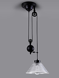 cheap -30 cm (12 inch) Mini Style Pendant Light Metal Glass Painted Finishes Rustic / Lodge Vintage Traditional / Classic 110-120V 220-240V