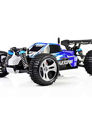cheap -RC Car WLtoys A959 2.4G Buggy (Off-road) / Drift Car / High Speed 1:18 50 km/h Rechargeable / Remote Control / RC / Electric