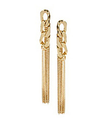 cheap -Women's Drop Earrings Ladies Personalized Tassel Fashion bridesmaid Gold Plated Earrings Jewelry Gold For
