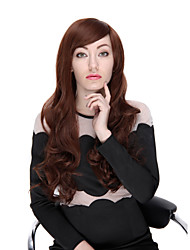 cheap -Synthetic Wig 28 Inch Fashion Long Wave with Side Bangs