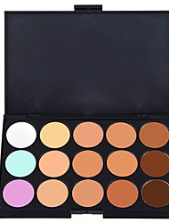 cheap -15 Colors Cream Concealer / Contour Wet / Matte / Shimmer Concealer / Natural Face Palette Makeup Cosmetic