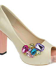 cheap -Jewel Buckie Shoe-buckle Decorative Accents for Shoes One Piece