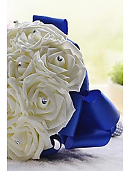 "cheap -Wedding Flowers Bouquets Wedding / Party / Evening Crystal / Rhinestone / Foam 11.02""(Approx.28cm)"