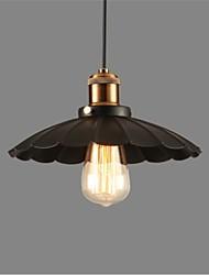 cheap -1-Light 24 cm Mini Style Pendant Light Bowl Retro 110-120V / 220-240V