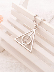cheap -Women's Pendant Necklace Ladies Casual / Daily Fashion Alloy Light Brown Silver Necklace Jewelry For Party