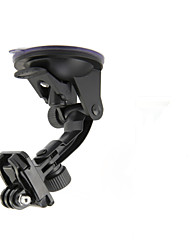 cheap -car suction cup fixing holder w mount base for suptig gopro hero 4 2 3 3 sj4000