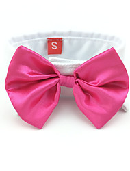 cheap -Cat Dog Tie / Bow Tie Dog Clothes Black Red Pink Cotton Costume For Spring &  Fall Women's