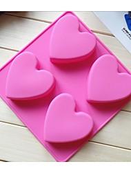 Недорогие -лед способа изготовления шоколада торт инструменты силиконовые формы торт конфеты желе мыло моделирование формы (случайный цвет)