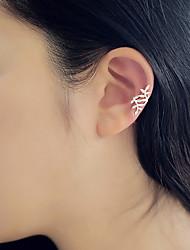 cheap -Women's Stud Earrings Ear Cuff Helix Earrings Ladies Small Earrings Jewelry Silver / Golden For Daily Casual