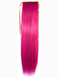 cheap -Micro Ring Hair Extensions Others Cosplay Synthetic Hair Hair Piece Hair Extension Straight 1.8 Meter Halloween / Party Evening / Pink