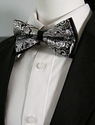 cheap -Men's Party Bow Tie - Color Block / Paisley Bow / Layered