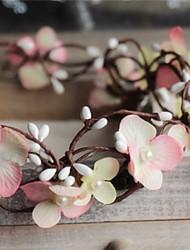 cheap -Women/Flower Girl Simulation Flowers Imitation Pearl/Basketwork Wreaths With Wedding/Party Headpiece