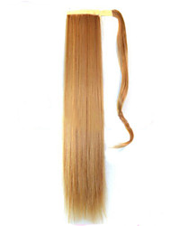 cheap -Micro Ring Hair Extensions Others Lustrous Synthetic Hair Hair Piece Hair Extension Straight 1.8 Meter Halloween / Party Evening / Golden
