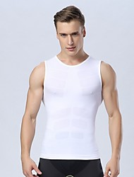 cheap -Men Quick Dry Breathable Gym Bodybuilding Tank Top Men Fitness Sports Compression Sleeveless T Shirt Vest Tights