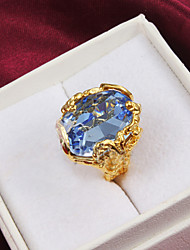 cheap -18k Gold Fashion Zircon Statement Rings Party/Daily