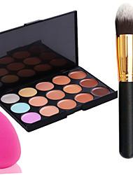 cheap -15 colors Foundation Cream Face
