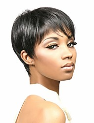 cheap -Synthetic Wig Straight Straight Wig Black Synthetic Hair Women's African American Wig Black hairjoy