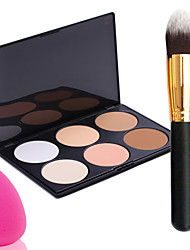 cheap -Makeup Brushes Powder Puff 1 pcs Face Classic Daily Makeup Cosmetic