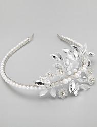 cheap -Imitation Pearl Rhinestone Alloy Headbands Headpiece Elegant Style