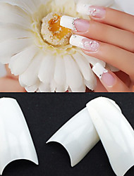 cheap -500pcs Plastic For Finger nail art Manicure Pedicure Abstract / Classic / Wedding Daily