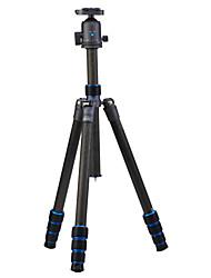 Недорогие -Углеродное волокно 415mm 4.0 Секции Цифровая камера Трипод
