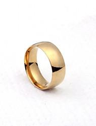 cheap -Men's Party/Casual Fashion Simple Titanium Steel Rings
