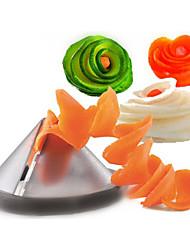 cheap -Funnel Model Spiral Slicer Vegetable Shred Salad Carrot Radish Cutter