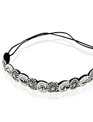 cheap -Crystal / Fabric Tiaras / Headbands / Head Chain with 1 Wedding / Special Occasion / Party / Evening Headpiece / Hair Tie