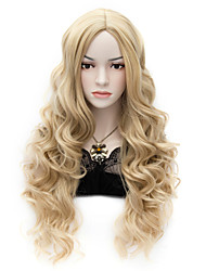 cheap -Synthetic Wig Curly Style Wig Blonde Synthetic Hair Women's Wig Very Long