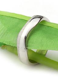 cheap -Men's Party/Casual Fashion Irregular Shiny Side Titanium Steel Rings
