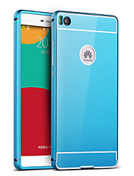 cheap -Case For Huawei Honor 4X / Huawei P9 / Huawei G7 Huawei P9 / Huawei P8 Lite / Huawei P8 Plating / Mirror Back Cover Solid Colored Hard Acrylic