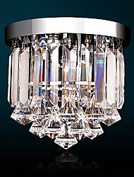 cheap -1-Light 25 cm Crystal / Mini Style / LED Chandelier Crystal Electroplated Traditional / Classic 110-120V / 220-240V
