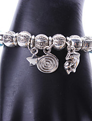cheap -Women's Party/Casual Alloy/Resin Bohemian Dolphin Charm Bracelet