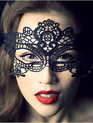 cheap -Crystal / Lace / Fabric Tiaras / Fascinators / Birdcage Veils with 1 Wedding / Special Occasion / Party / Evening Headpiece / Masks