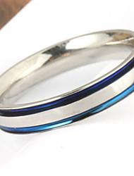 cheap -Men's Party/Casual Fashion Simple Stripe Titanium Steel Rings
