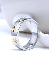 cheap -Men's Party/Casual Fashion Pentagram Titanium Steel Rings