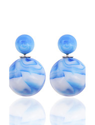 cheap -Party/Casual Acrylic/Fashion China's Wind Colour Ink Resin Stud Earrings