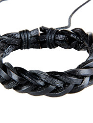 cheap -Vintage/Casual Fashion Leisure Weave Leather Bracelet