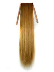 cheap -Micro Ring Hair Extensions Others Cosplay Synthetic Hair Hair Piece Hair Extension Straight 1.8 Meter Halloween / Party Evening / Golden