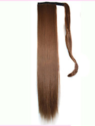 cheap -Micro Ring Hair Extensions Others Curler & straightener Synthetic Hair Hair Piece Hair Extension Straight 1.8 Meter Halloween / Party Evening