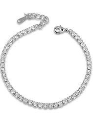 cheap -Women's Crystal Tennis Bracelet Ladies Luxury Crystal Bracelet Jewelry For Wedding Party Daily Casual / Cubic Zirconia