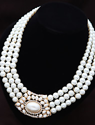 cheap -Party/Casual Western Style Elegant Extravagant Imitation Pearl Statement