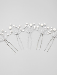 cheap -Imitation Pearl / Alloy Hair Pin with 1 Wedding / Special Occasion Headpiece