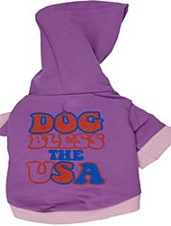 cheap -Cat Dog Coat Hoodie Winter Dog Clothes Costume Cotton Cosplay XS S M L